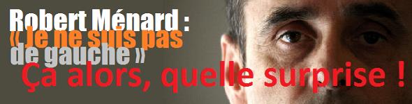 Eric Zemmour et Robert Ménard, idéologues du Front National