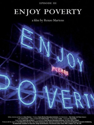 Affiche du film Enjoy Poverty. Poisson Rouge