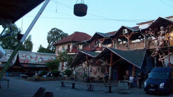 Le quartier Metelkova de Ljubjana (Slovénie)