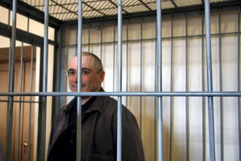 Mikhaïl Khodorkovski poisson rouge