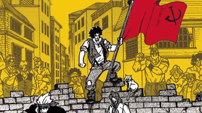 Le manifeste du parti communiste en bande dessinée