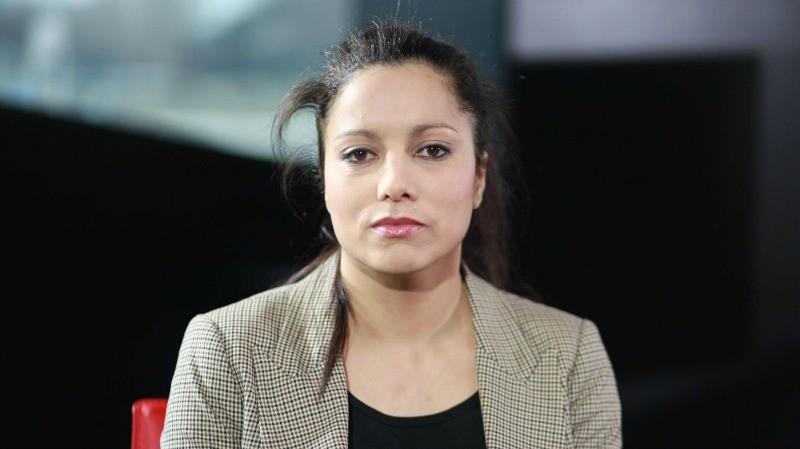 Houria Bouteldja, porte-parole des Indigènes de la République pour qui la notion de race prime sur celle de classe.