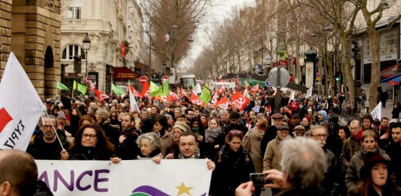 Manifestation de soutien à Syriza 15 février 2015