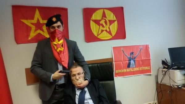 Prise d'otage Istanbul