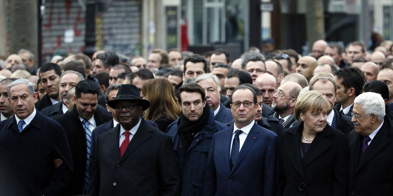 angela-merkel-chancelière-president-allemande-francois-hollande-president-francais-ibrahim-boubacar-keita-ibk-president-malien-marche-republicaine-chef-etats-paris