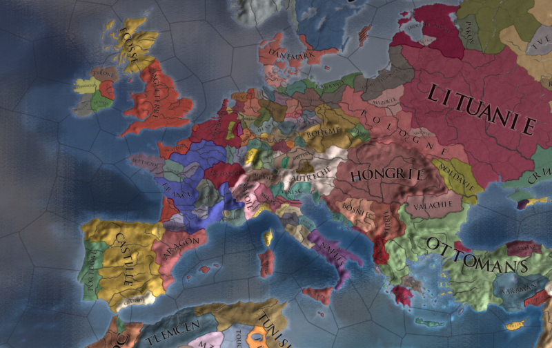 L'Europe en 1444 : choisis ton destin !