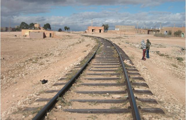 Ancien camp d'internement de Berguent au Maroc