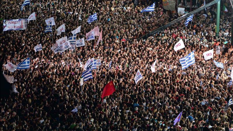 OXI : Le NON doit l'emporter, pour la Grèce et pour l'Europe !